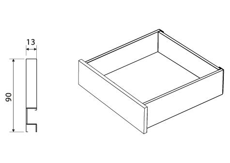 Nuovo sistema silenzioso per cassetti cucina